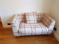 Sofa - beautiful, tartan love seat