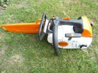 STIHL CHAINSAW MS 201TC.YEAR 11-2017.