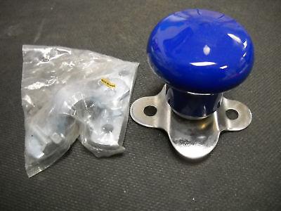 Blue Tractor Steering Wheel Knob Spinner Ball Bearing Vinyl Cover Wsv120b