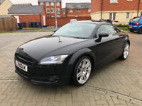 "2008 58 Audi TT 2.0 TDi Quattro - Bose, Xenons, 19"" Alloys, Red Heated Leather and more!"