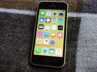 iphone 5c 16gb yellow UNLOCKED