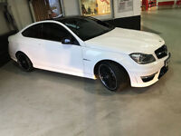 2012 62 MERCEDES-BENZ C CLASS 6.2 C63 AMG 2d AUTO 457BHP*PART EX WELCOME*FINANCE AVAILABLE*WARRANTY*