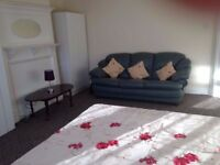 Large Sunny Studio Flat, Suits Two, Near Wembley Park and Wembley Central