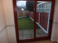 Bespoke Mahogany Solid Wood Patio Sliding Door
