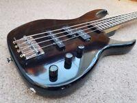 1990 Ibanez EXB-404 bass guitar