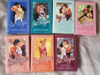 CZECH books, Romantic novels by bestselling author Lisa Kleypas in CZECH language