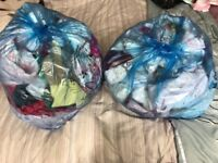 2 bags of baby girl clothes size 3-6, 6,9, 9-12