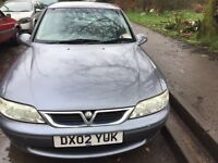 2002 Vauxhall Vectra LS 1.8L 5dr Hatchback Petrol Grey BREAKING FOR SPARES