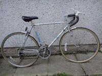 Sun GT retro road bike 27 inch wheels, 10 gears, 22 inch frame, new tyres