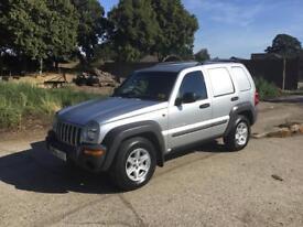 Jeep Cherokee Commercial 4x4 Van