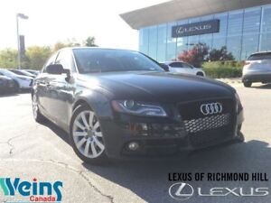 2012 Audi A4 LEATHER/ROOF/MANUAL