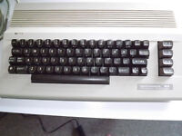 Commodore c64 Base Unit with charger and video/tv cable