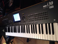 KORG I30 Interactive Music Keyboard Workstation Electric korg i30 synthesiser IMMACULATE CONDITION