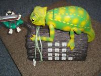 Novelty TELEPHONE....vintage 80's, Kama Chameleon....