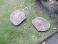 garden stepping stones x 12