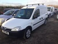 2010 VAUXHALL COMBO DIESEL VAN ONE OWNER FULL SERVIVE HISTORY READY FOR WORK MOT DRIVES VERY WELL