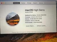 """Late 2015 MacBook Pro 13"""" retina with 16 GB RAM, may swap + cash for iPhone X"""