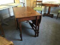Solid Mahogany Dining Table C 1900 Seats 6