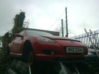 2003 MAZDA RX-8 2.6 PETROL BREAKING FOR PARTS