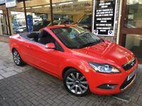 FORD FOCUS CC 2.0 TDCi CC-2 Cabriolet 2dr (red) 2008