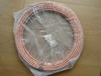 25 METRE LENGTH MINIBORE PLUMBING COPPER TUBING 8mm o.d x 0.60mm wall NEW