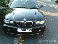 BMW 3 COUPE 2006!!! 2.0 BLACK AUTOMATIC BLACK LEATHER BRILLIANT CONDITION