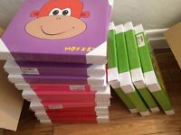 CLEARANCE STOCK - 64 x CANVAS BOX PRINTS for babies & kids Carboot Stock SALE Job Lot