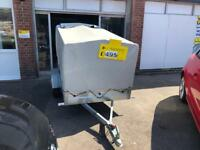 Box trailer with cover nearly new SOLD!!