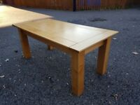 Solid Wood Coffee Table 120cm FREE DELIVERY 360