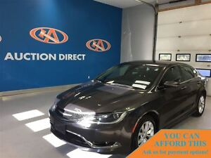 2015 Chrysler 200 C, HEATED SEATS & STEERING WHEEL, BLUETOOTH, B
