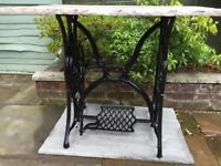 Sewing machine table ( singer )