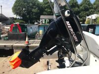 2012 Mercury 30hp EFI fuel injected four stroke power tilt outboard