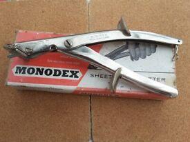 Vintage Monodex Sheet Metal Cutter