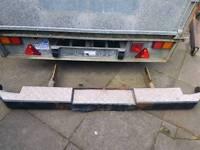 Ford transit tow bar bumper