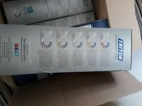 X5 Triton T80z White Electric Shower Units in Sealed original packaging.
