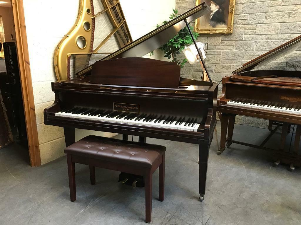 1939 Monington and Weston Baby Grand Piano & New Stool - CAN DELIVER