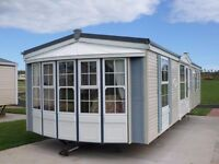 2003 Atlas Image Super static caravan for sale at Chesterfield Country Park in Berwickshire