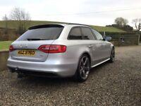 Audi A4 Avant, 2013 s-line Black Edition 174 estate, 71k