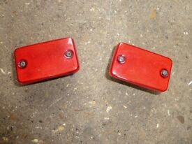 TOYOTA SUPRA MKIII MA70 DOOR GUARD LIGHT ASSEMBLIES- V.G.C.