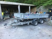 Ifor williams 12ft tipping trailer 2009 snapped chassis