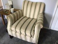 Multiyork hand made settee and chair FREE TO GOOD HOME MUST GO BY 4pm tomorrow WEDNESDAY 20th jan