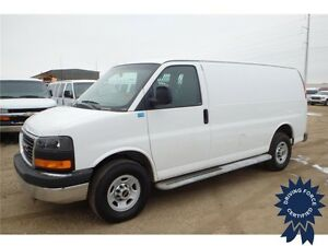 2015 GMC Savana Cargo Van, 4.8L V8, 27,266 KMs, Bucket Seats