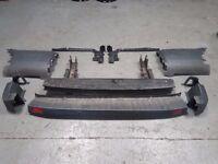FORD TRANSIT MK8 COMPLETE REAR BUMPER 2014-17