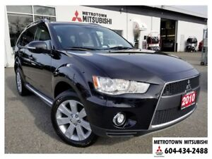 2010 Mitsubishi Outlander XLS S-AWC; Local BC vehicle!