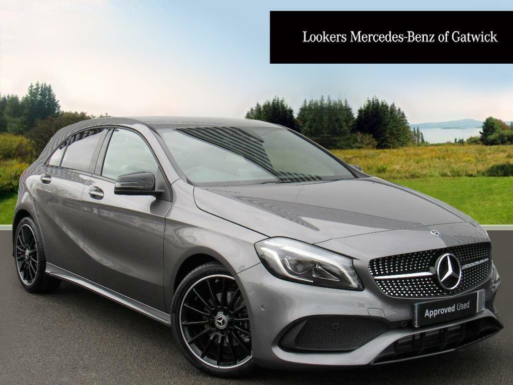 mercedes benz a class a 200 amg line premium grey 2017 11 20 in crawley west sussex gumtree. Black Bedroom Furniture Sets. Home Design Ideas