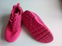 Girls Pink Trainers Size 13