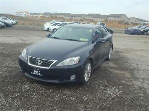2010 Lexus IS 250 -LEATHER- MOONROOF - HEATED SEATS