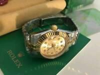 LADIES Rolex Datejust Golden Dial two tone