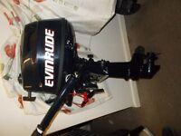 outboard engine motor evinrude 4hp 4stroke