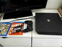 PlayStation 4 pro 1TB & games
